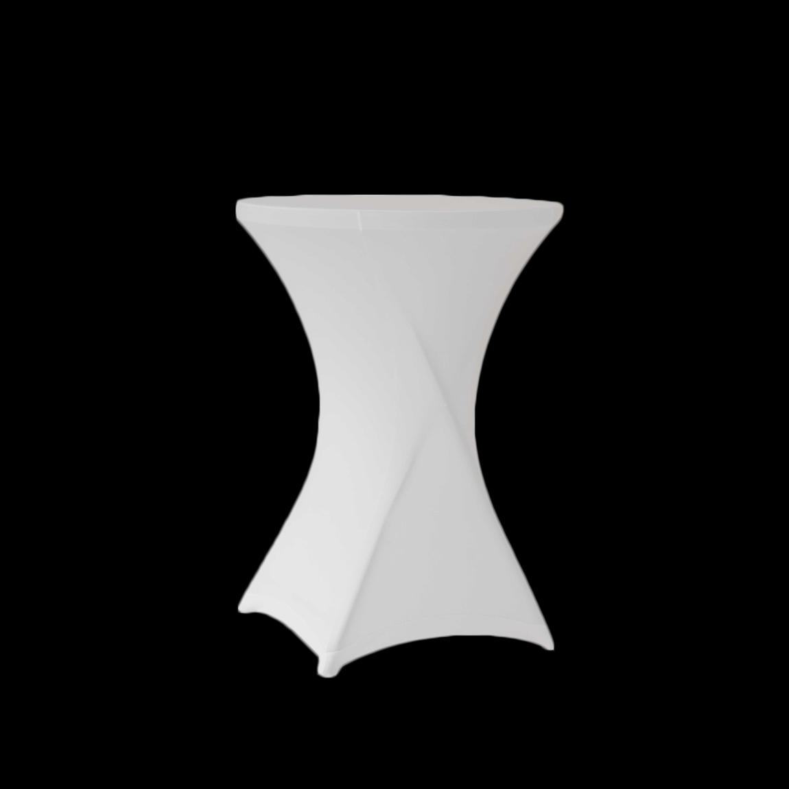 Obrázok Stretch coctail biely